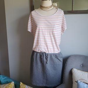 Gap Stripped Pocket Shirt Dress